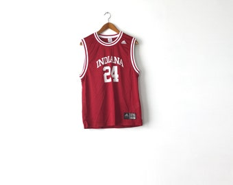 Indiana Hoosiers Basketball Jersey - Small-Medium / Indiana Jersey / Indiana Hoosiers / Hoosiers / Basketball Jersey / Indiana Shirt / 90s