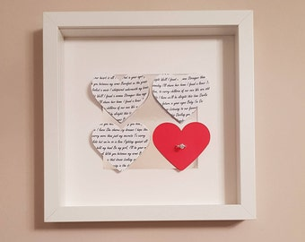 Paper Heart Frame