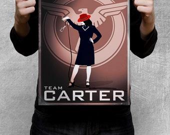 AGENT CARTER dubsmash inspired poster - #TeamCARTER