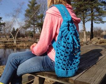 Crochet Beach Bag (Pattern)