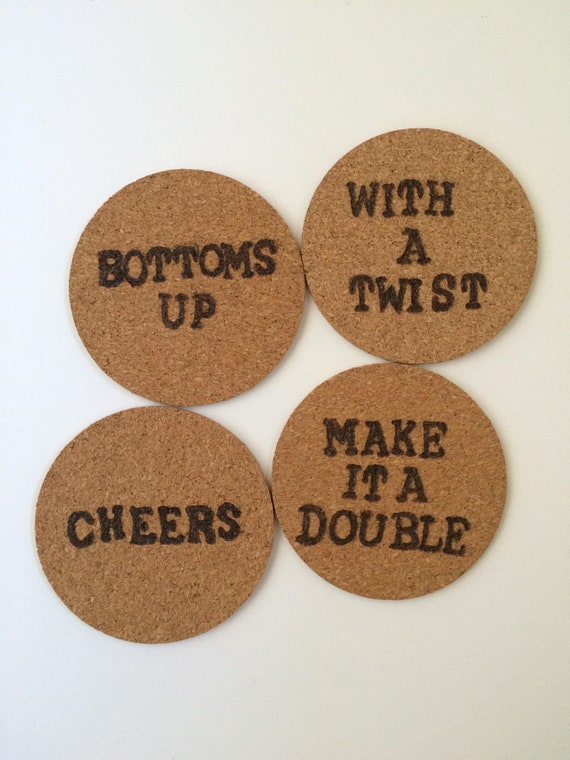 Cork Coasters - Cork coaster bottoms