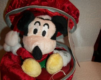 Vintage Mickey Mouse Christmas Present ( New W/ Tags)