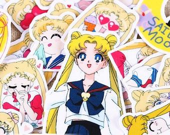 36pcs Scrapbook Stickers --Filofax Stickers--Planner Stickers--Sailor Moon