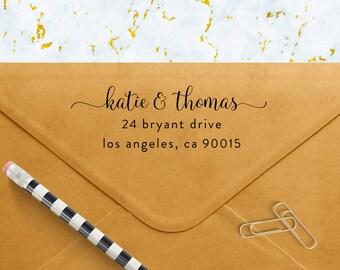 Custom Address Stamp, Self Ink Return Address Stamp, Personalized Address Stamp, Self Ink Custom Address Stamp