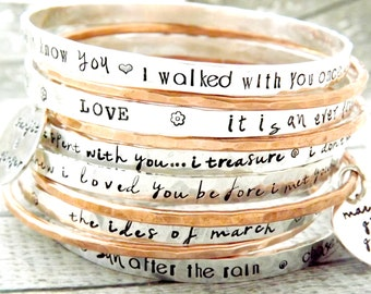 girlfriend bracelet bangles name product for personalized bangle customized couples gold