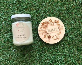 Vanilla   Mini Jar Candle