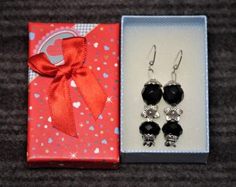 handcrafted earrings by Maxine