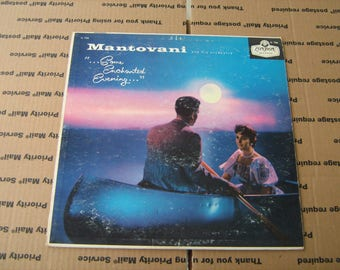 1950s Classical music Mantovani and his orchestra  33-1/3 rpm vinyl on London  # LL-766