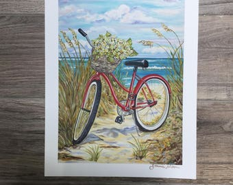 Red Beach Bike