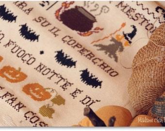 Gira, gira il mestolo... - Cross Stitch Chart in PDF format