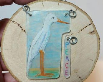 Itty Bitty Art: Shore Bird