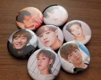 Wanna One Pinback Buttons