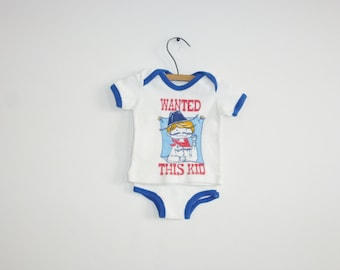 Vintage Terry-Cloth Baby Outfit