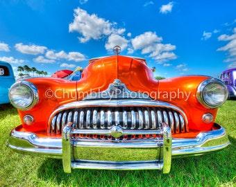 Classic Car Photograph Print / Automotive/ Man Cave/ Vintage