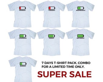 COMBO PACK! 7 t-shirts SALE