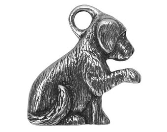 Danforth Molly 7/8 inch ( 23 mm ) 3D Pewter Pendant Charm