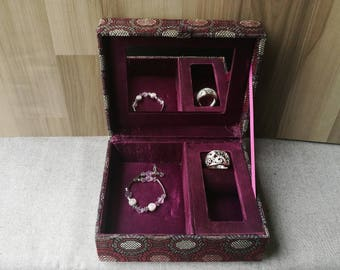 Vintage personalized jewelry box Etsy