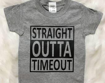 Straight Outta Timeout T-Shirt