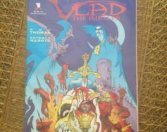 VTG 1992 Vlad the Impaler comic