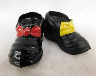 Cast Iron Shoes Salt and Pepper Shakers