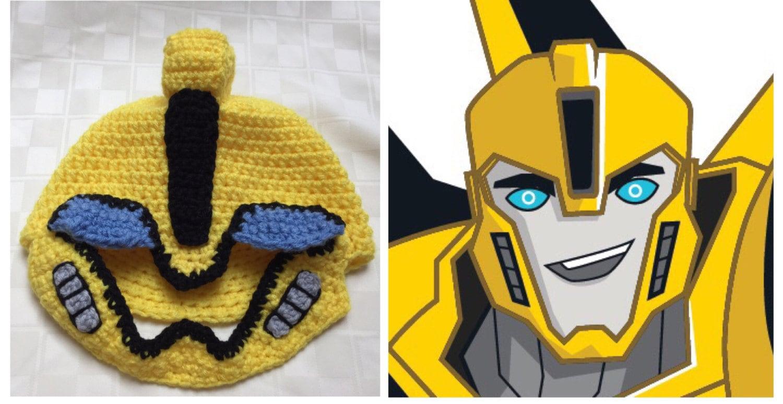 Fancy Bumble Bee Crochet Hat Pattern Free Festooning - Sewing ...