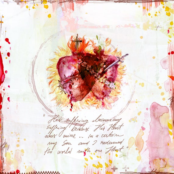 One Heart - fine art print