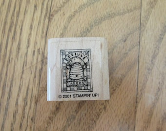Stamp for Scrapbooking or Card Making- Beehive -Rubber Stamp