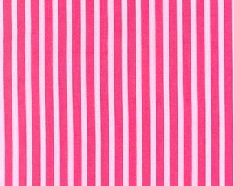 One yard - Clown Stripe in Girl - Michael Miller cotton quilt fabric