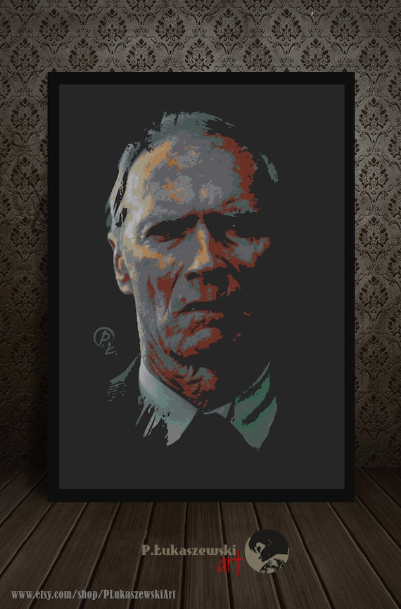 GRAN TORINO Portrait alternative Filmplakat / Druck