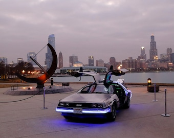 DeLorean Time Machine #4