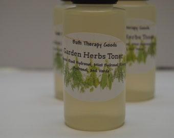 Garden Herbs Face Toner, Hydrosol Blend Toner