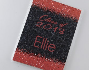 Prom Senior Pictures Photo Album 4x6 5x7 Class of 2018 Graduation Gift Personalized with Graduate Name Highschool 884