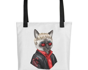 Sir Elton Cat Tote bag