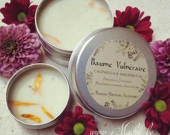CALENDULA, St. John's wort BALM HERBAL Lavender Herbal Alchemy Natural skincare balm Vulnerary natural burn, cuts, sunburn