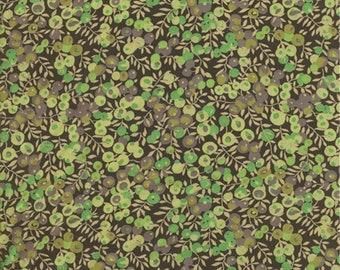 Liberty Tana Lawn fabric Wiltshire vert -  carré de 20 cms x 20 cms idéal DIY
