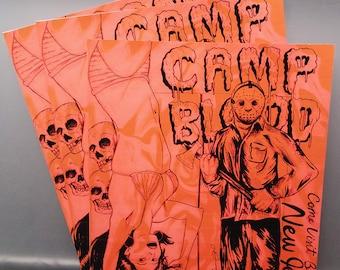 Camp Blood artist print