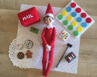 Elf props for elf on the shelf inc elf mail and elfie selfie