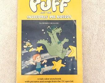 Vintage Puff The Magic Dragon Book
