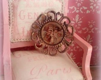 miniature 1/12 vintage cameo