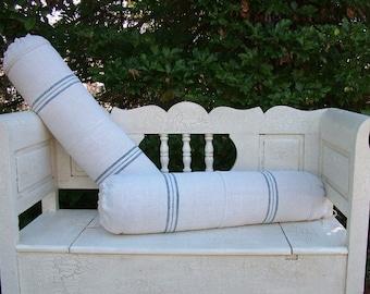 Custom Made Linen Bolster Cushions To Order