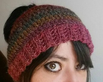 Messy bun hat/ Ponytail hat/alpaca  crochet viral hat/ beanie/ pony tail hat/ messy bun/ alpaca yarn/ adult hat/ crochet beanie