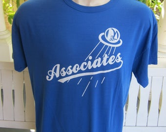 Size L+ (50) ** Rare 1980s Associates Concert Shirt  (Single Sided)