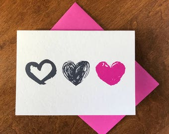 Valentine's Day Hearts Set of 8