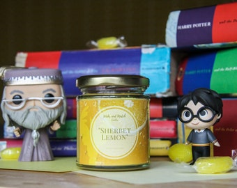 Sherbet Lemon | Harry Potter Themed Candle