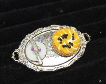 Blueberry-Peach Pie Ring