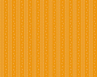 Penny Rose Fabric by the Yard, Calico Crow Tracks, by Lauren Nash for Riley Blake Designs, C7305-ORANGE