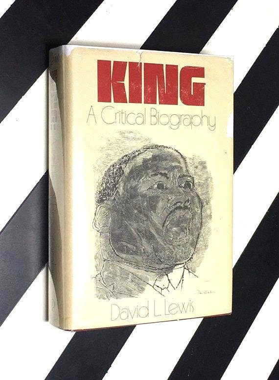 King: A Critical Biography by David L. Lewis (1970) hardcover book