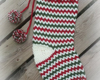 Whimsical Christmas Stocking crochet pattern