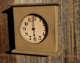 Primitive Mantel Clock