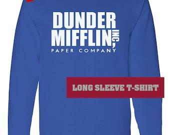 Dunder Mifflin shirt long sleeve unisex - TV Office sweatshirt - not Dunder Mifflin sweatshirt - not Dunder Mifflin hoodie - The Office